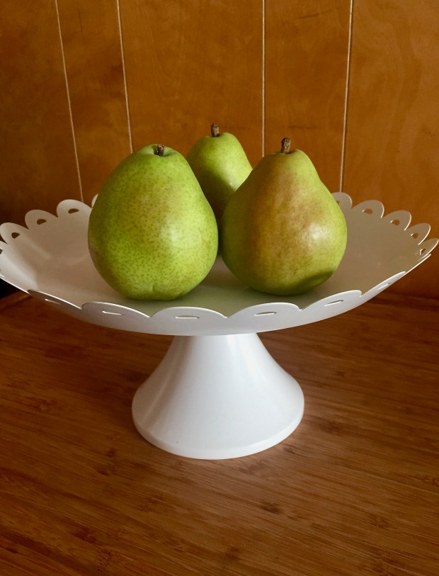Pears on a Pedistal