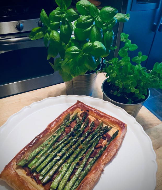 Asparagus Galette After
